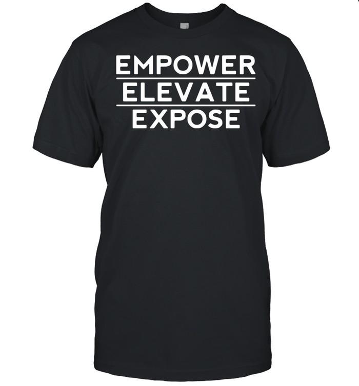 Empower elevata expose shirt