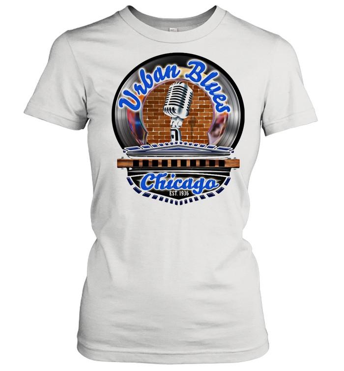 Urban Blues Chicago EST.1936 Sing Club shirt Classic Women's T-shirt