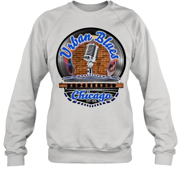 Urban Blues Chicago EST.1936 Sing Club shirt Unisex Sweatshirt