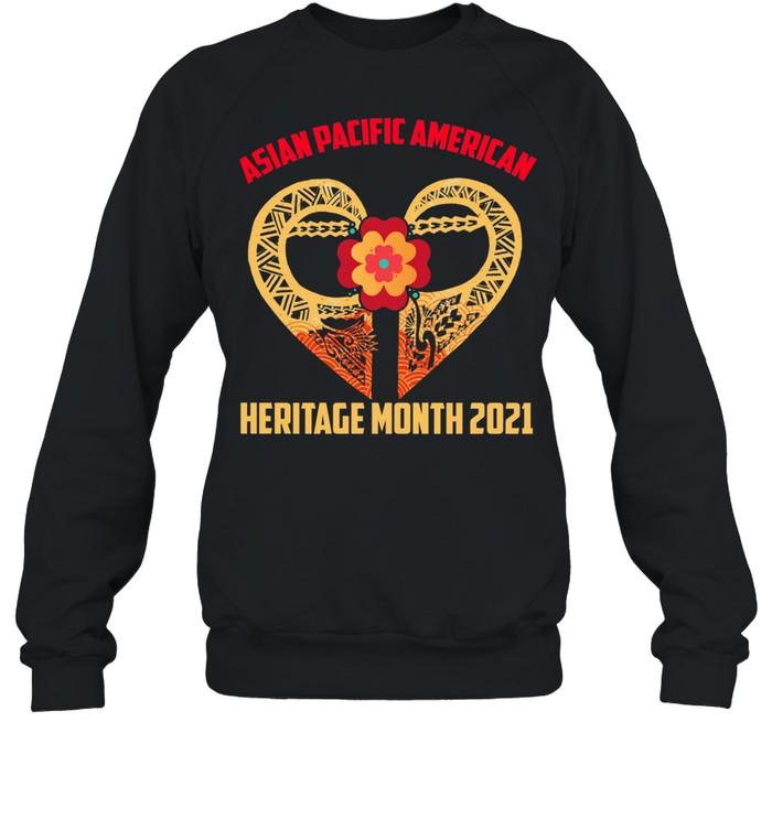 Asian Pacific American Heritage Month 2021 shirt Unisex Sweatshirt