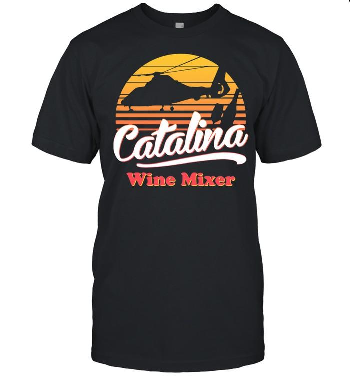 Catalina wine mixer vintage sunset shirt