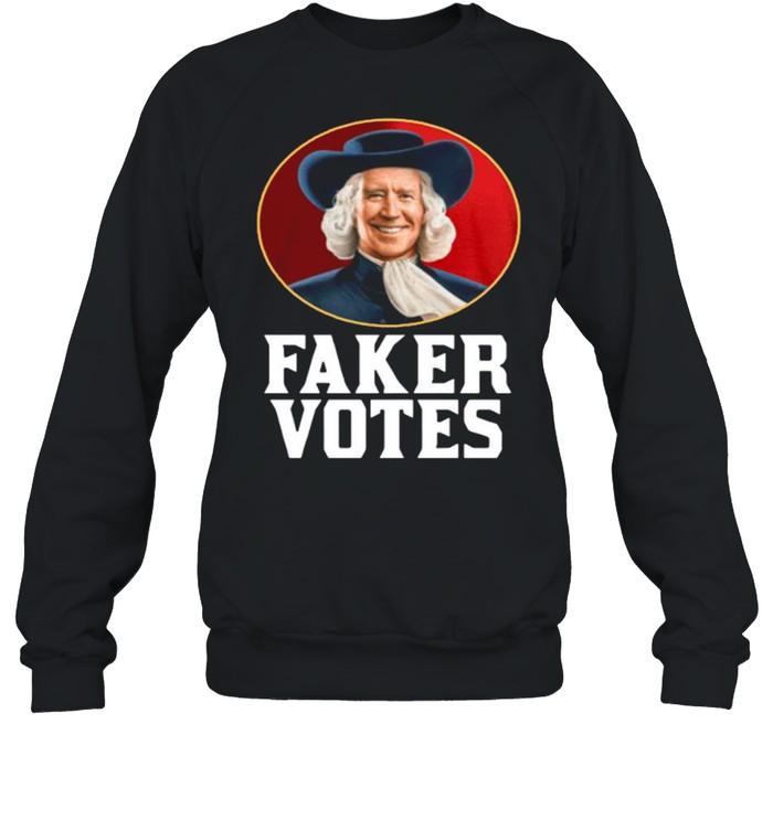 Jim Acosta Faker Votes shirt Unisex Sweatshirt