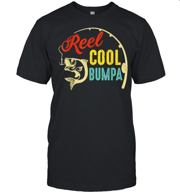 Vintage Fishing Reel Cool Bumpa shirt