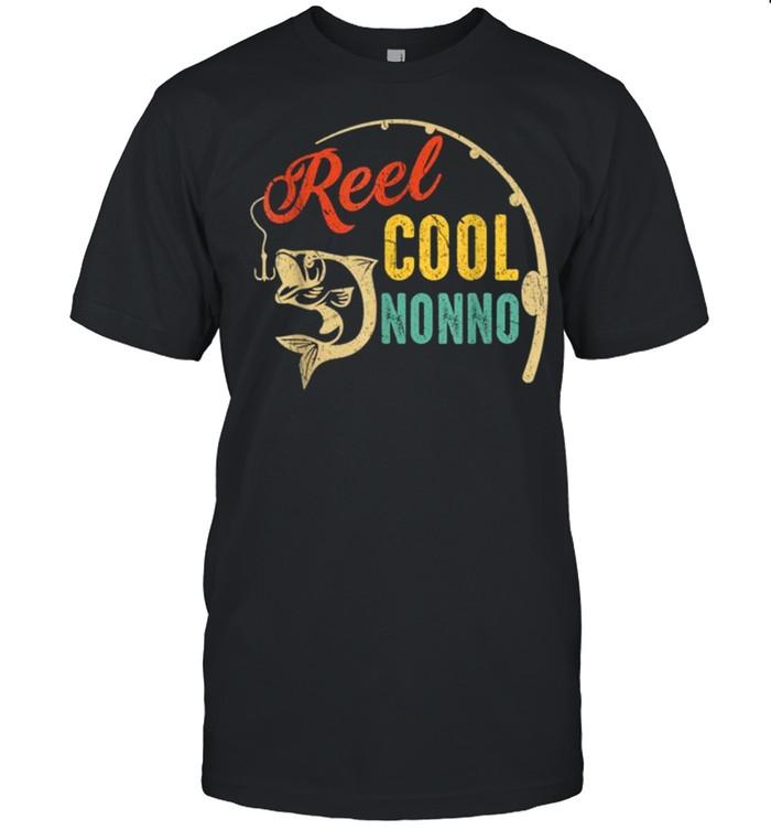 Vintage Fishing Reel Cool Nonno shirt
