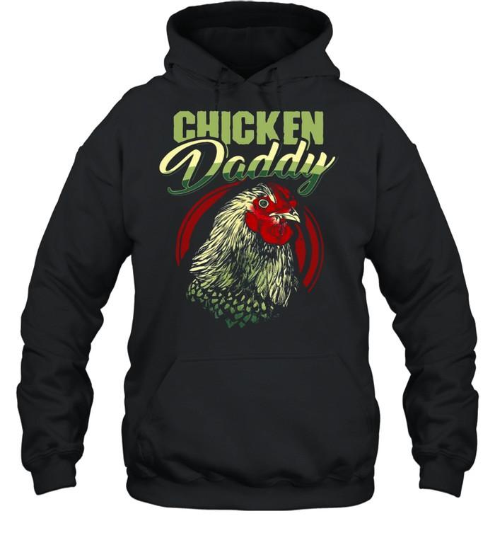 Chicken Daddy T-shirt Unisex Hoodie