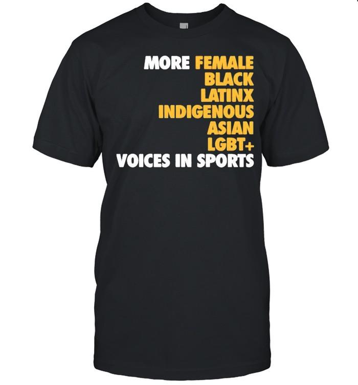 Megan reyes megreyes more diverse voices in sports shirt