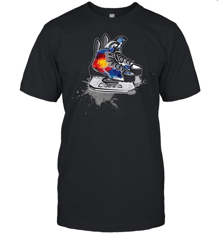 Colorado Hockey Skates T-Shirt
