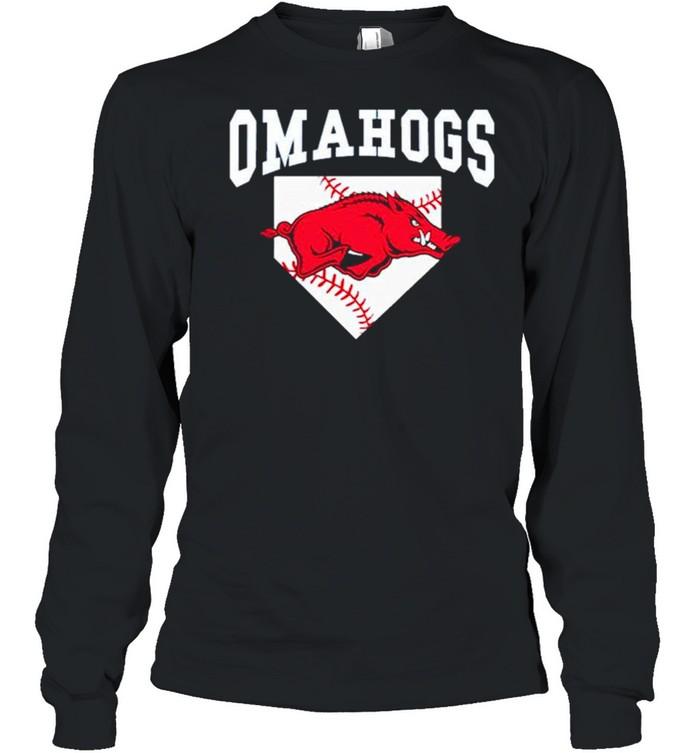 Omahogs Tee shirt Long Sleeved T-shirt