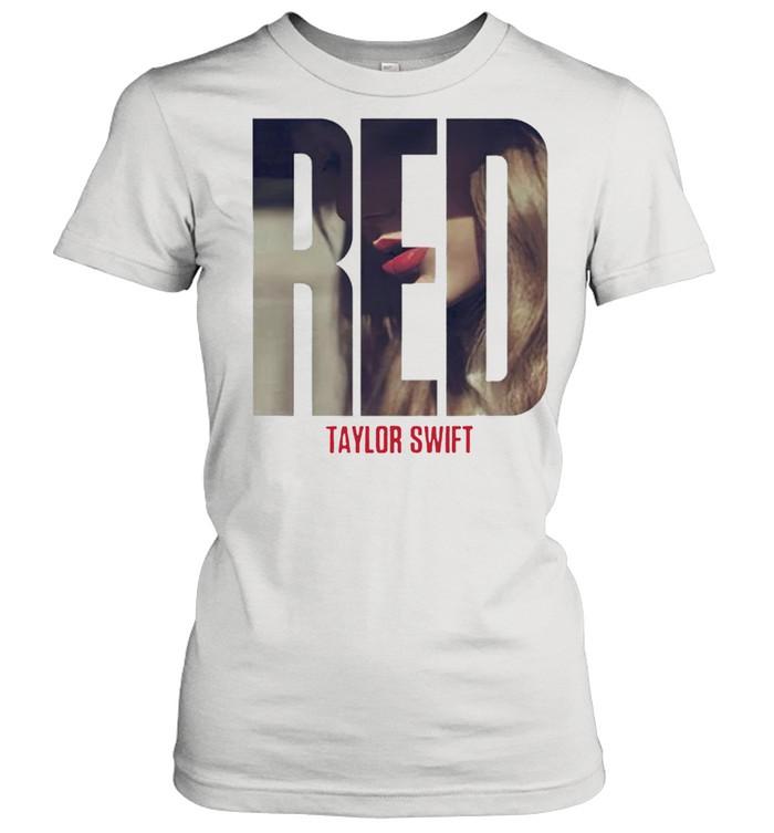 Taylor Swift red album shirt Classic Women's T-shirt