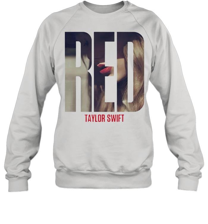 Taylor Swift red album shirt Unisex Sweatshirt