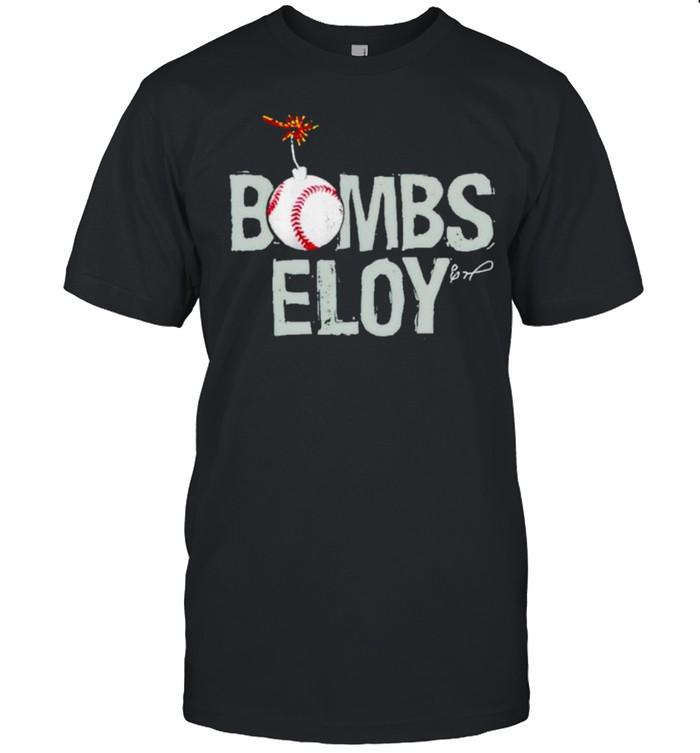 Bombs Eloy Jimenez baseball shirt