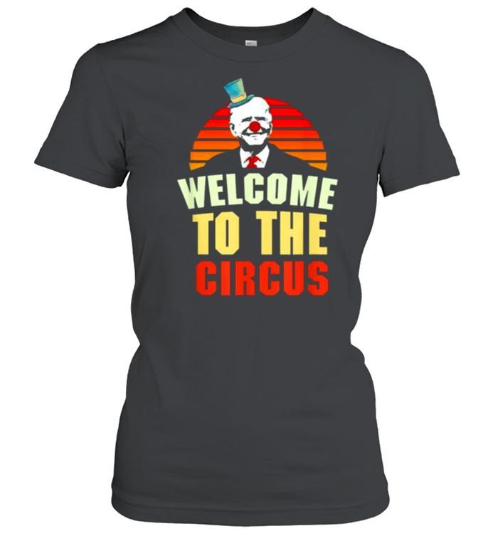 Joe Biden welcome to the circus vintage shirt Classic Women's T-shirt
