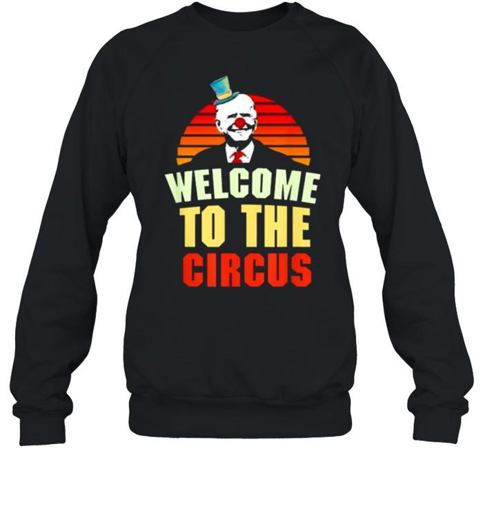 Joe Biden welcome to the circus vintage shirt Unisex Sweatshirt
