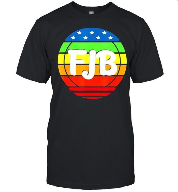 Trending FJB Pro America US Distressed Flag F Joe Biden FJB Shirt