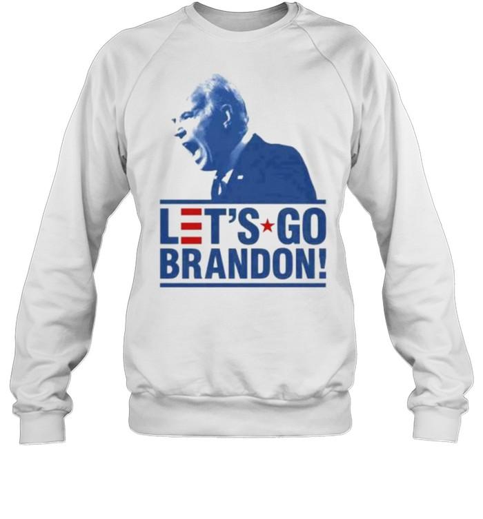Let's Go Brandon Funny Meme 2021 T- Unisex Sweatshirt