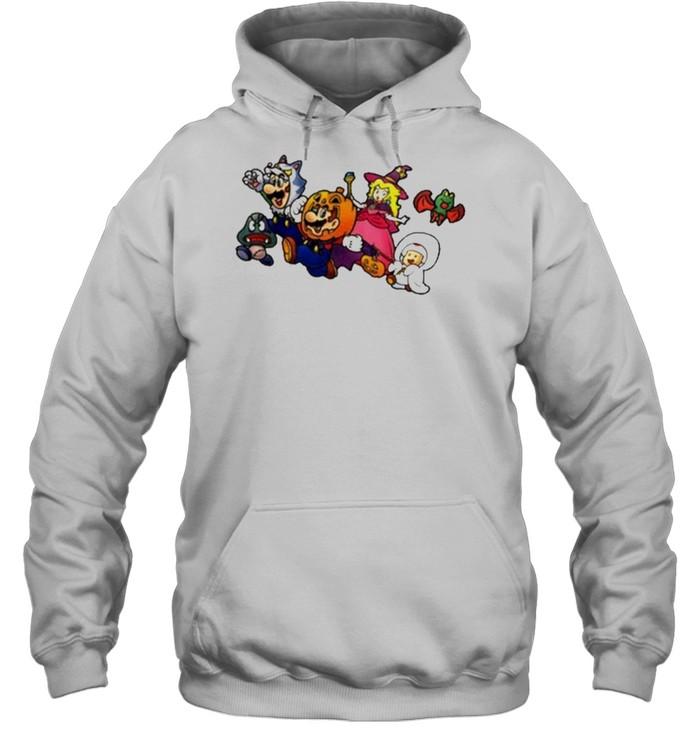 New Super Mario Nintendo Ny Exclusive Halloween  Unisex Hoodie