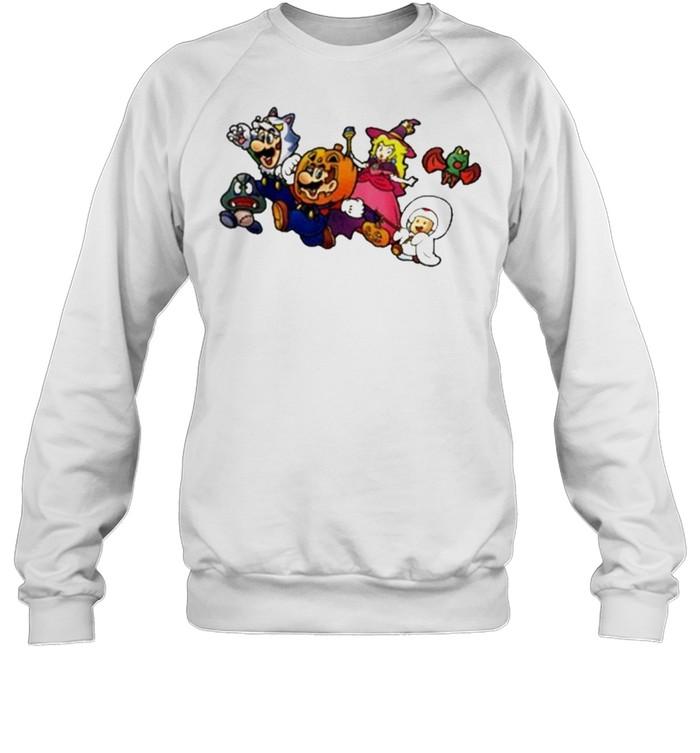 New Super Mario Nintendo Ny Exclusive Halloween  Unisex Sweatshirt