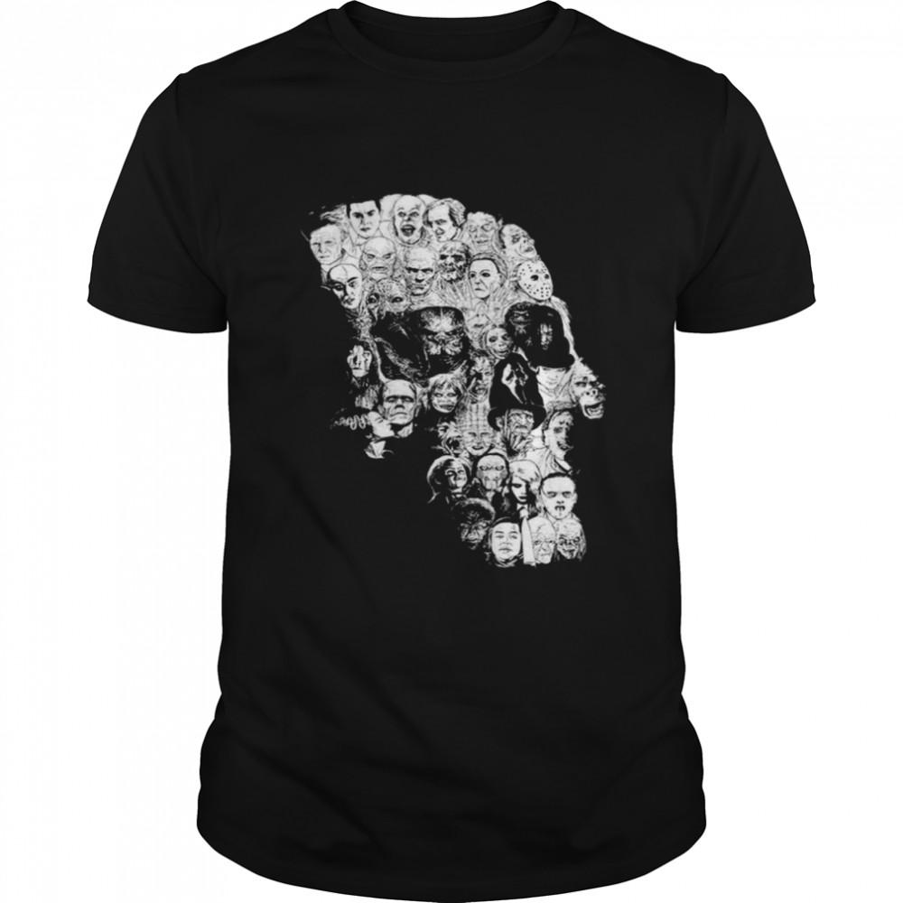 Horror Skull Characters Shirt