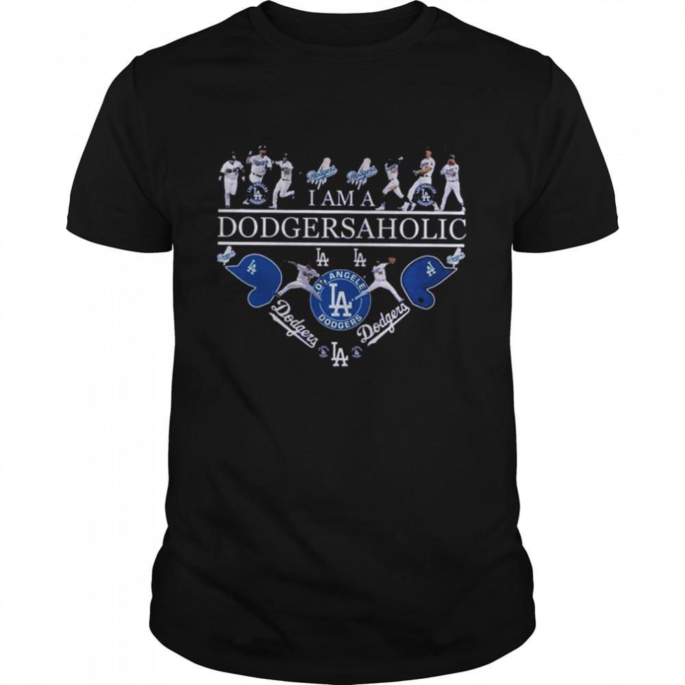 I Am A Dodgersaholic Los Angeles Dodgers 2021 shirt