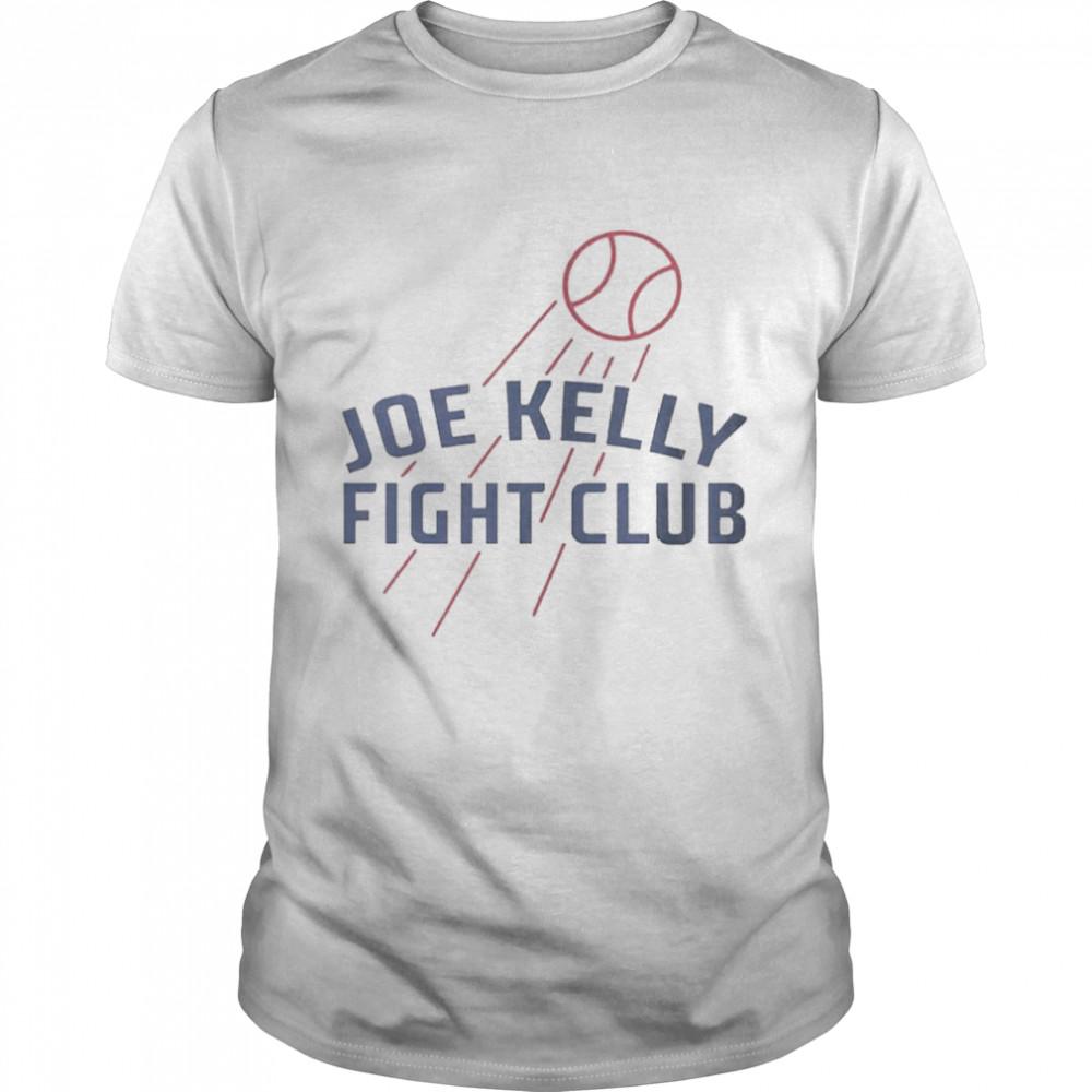 Joe Kelly Fight Club Baseball Tee shirt