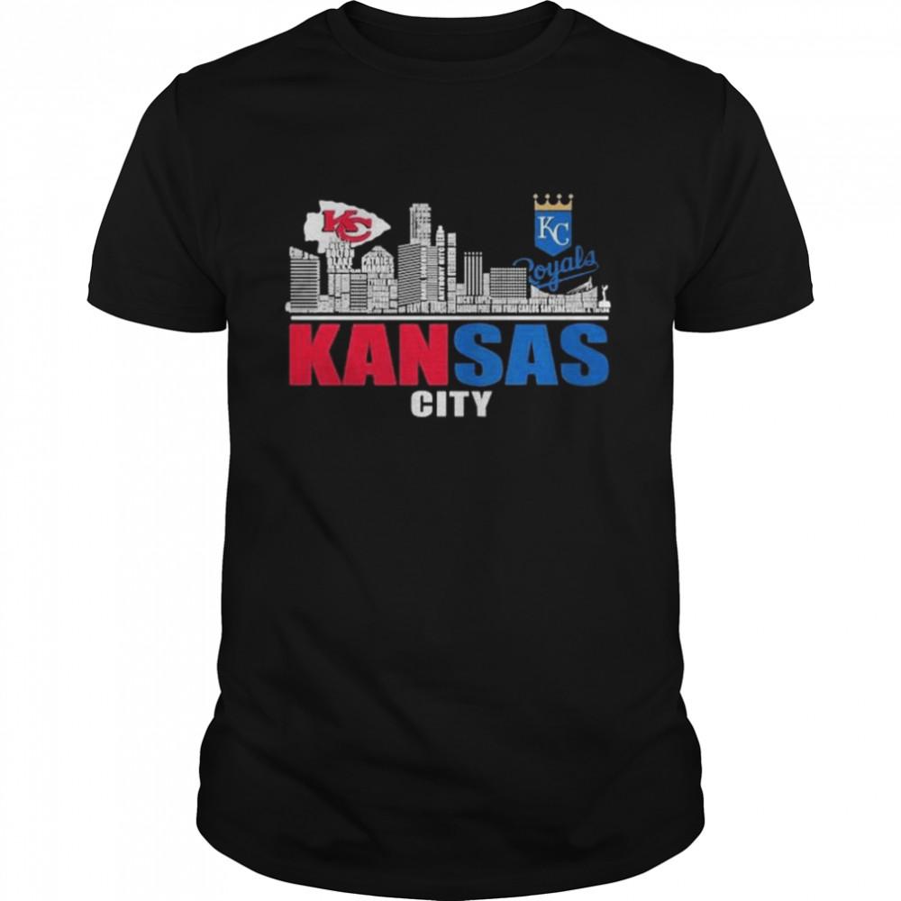 Kansas City Chiefs And Kansas City Royals Baseball Kansas City Shirt