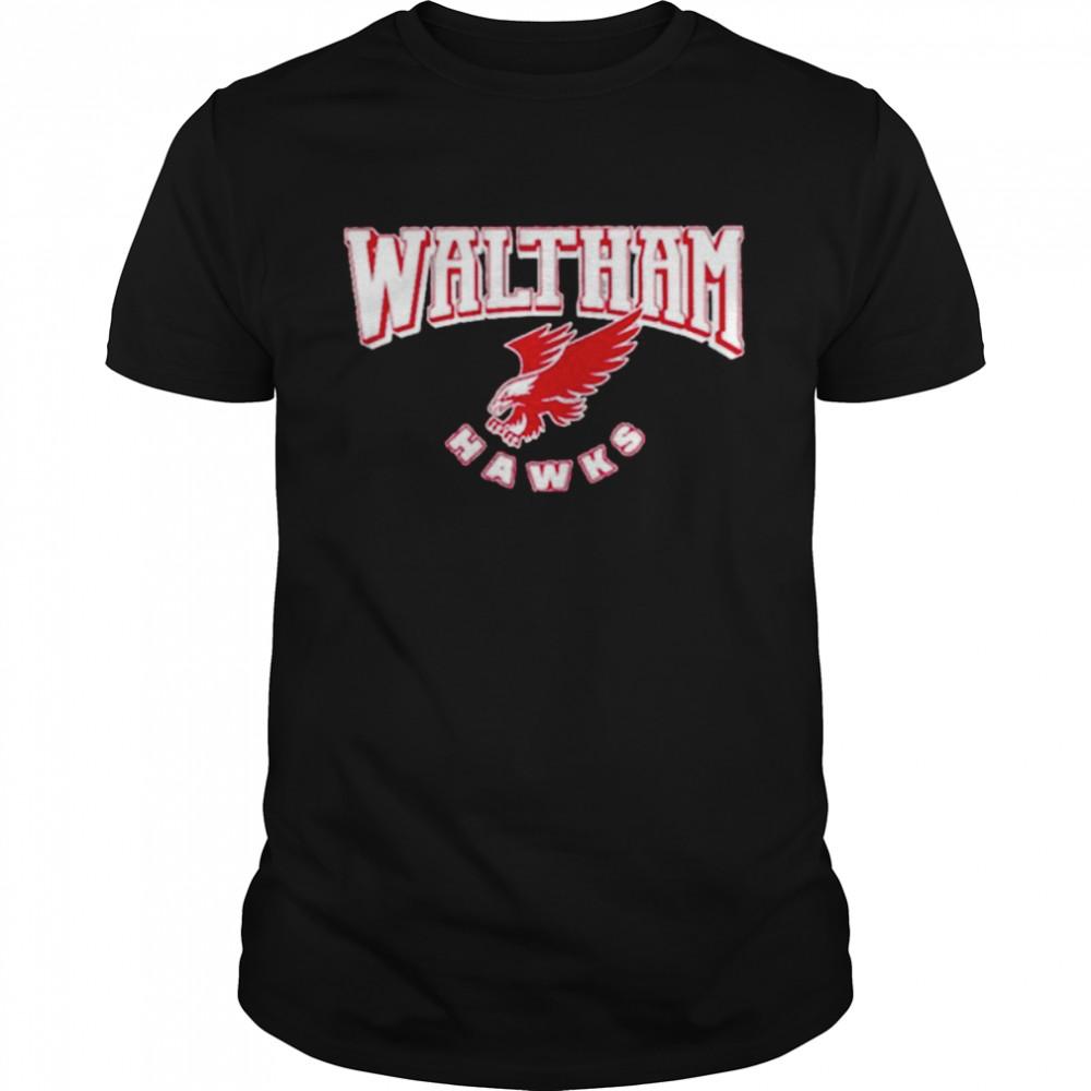 Red Sox' Kyle Schwarber dons Waltham Hawks shirt