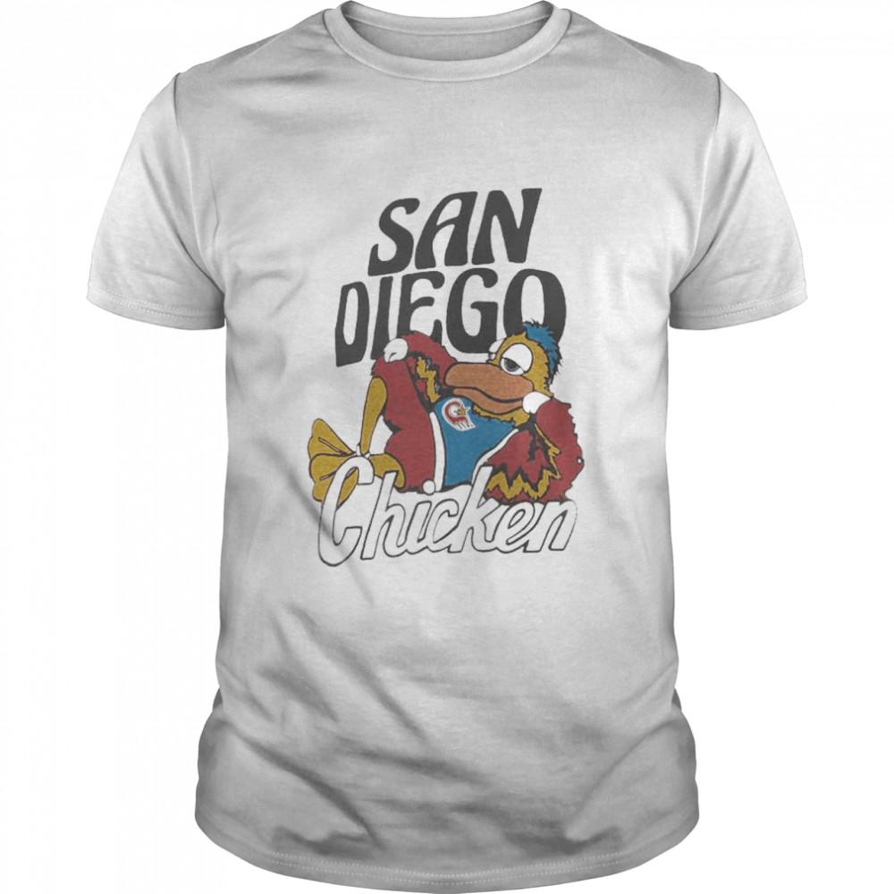San Diego Padres chicken homage hyper shirt