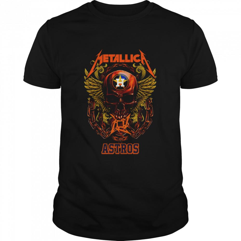 Skull Metallica Houston Astros 2021 shirt