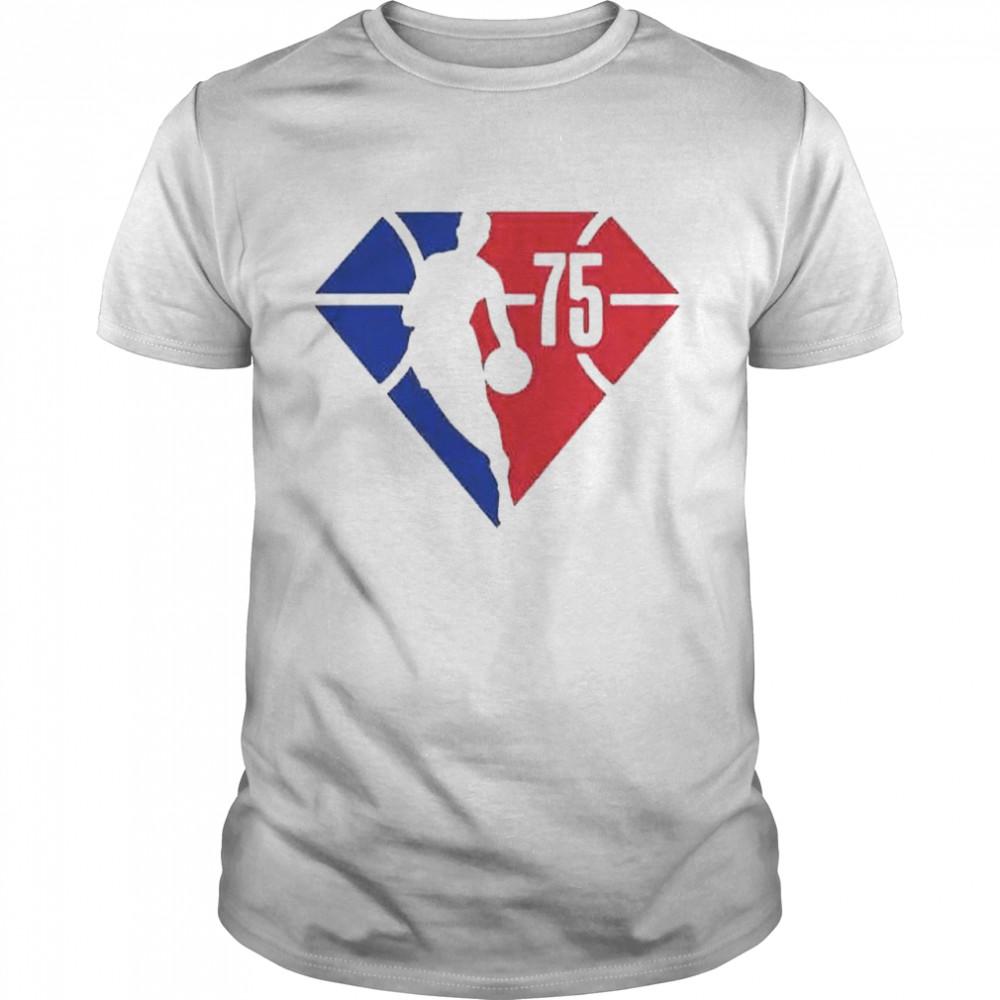 The 75th Anniversary NBA shirt